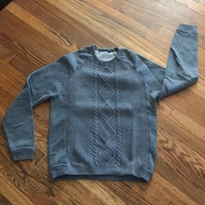Zara Man grey sweater